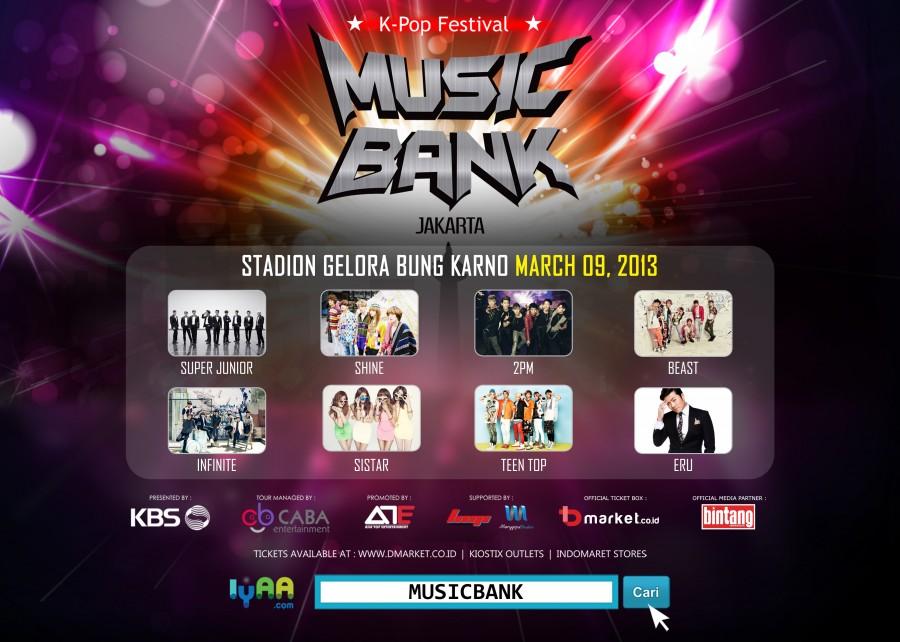 Print Ad Konser Music Bank