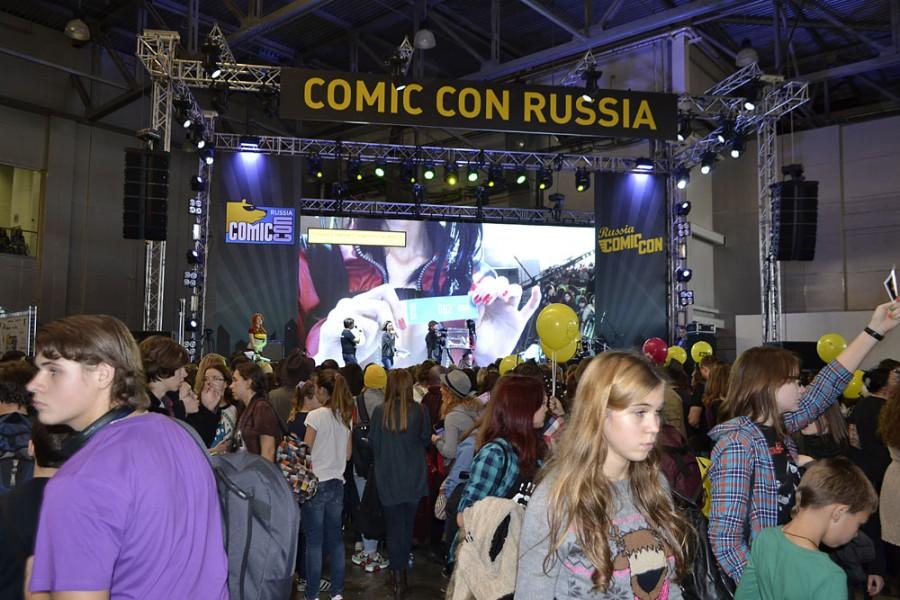 Comic Con Russia 2014 глазами анимешника