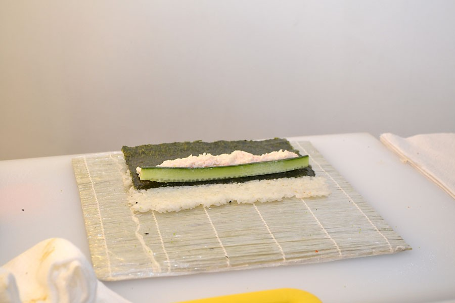 Торт из 1200 роллов