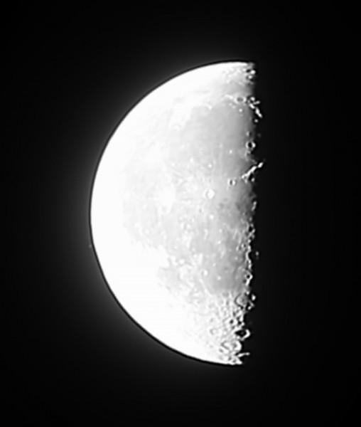 22.09.2019 - Луна и звезда Дзета Тельца - перед покрытием данной звезды Луной.