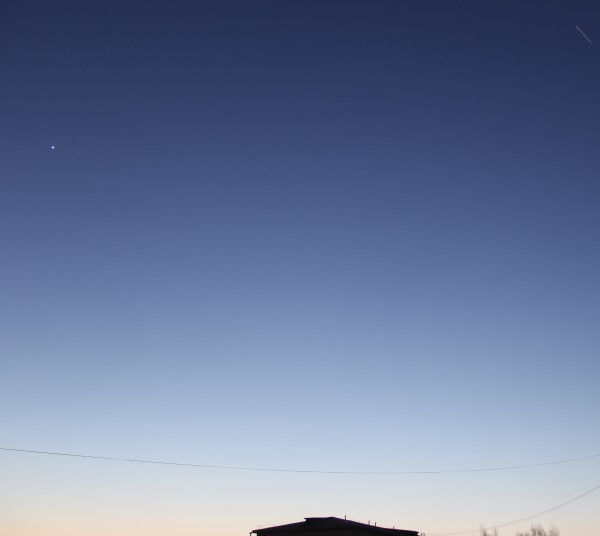 08.02.2020: пролёт МКС в небе над пос. Южно-Морской (Приморского края)