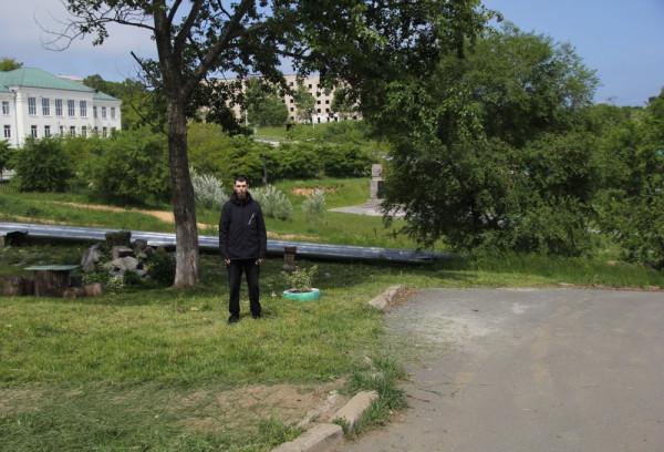 Филипп Романов-в п. Южно-Морской Приморского края.JPG