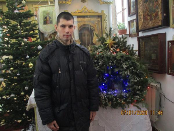 7 января 2020 г. - в Рождество Христово - в православном Храме п. Ливадия Приморского края, после окончания праздничной службы.
