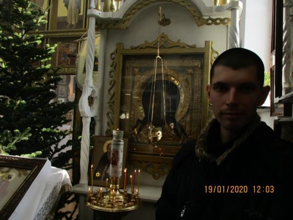 19 января 2020 г. - в Крещение Господне - в православном Храме п. Ливадия Приморского края, после окончания праздничной службы
