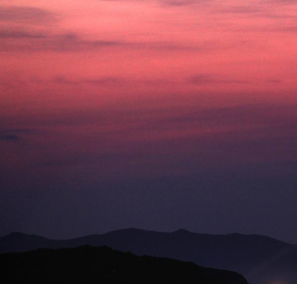 Трек пролёта МКС утром 03.07.2020.