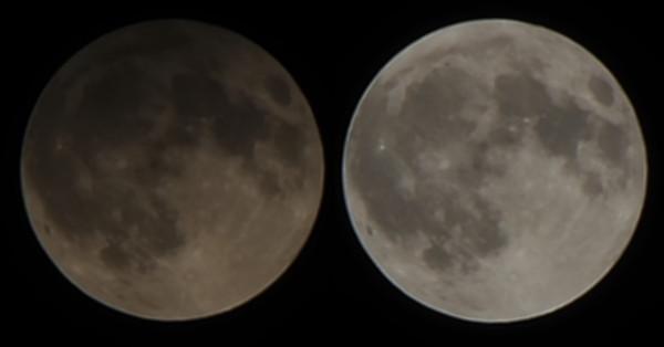 Полутеневое лунное затмение 30.11.2020.