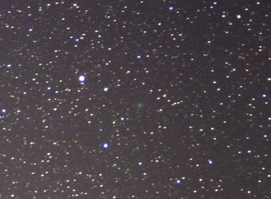 Комета C/2020 M3 (ATLAS) - ночью 19 октября 2020 года.