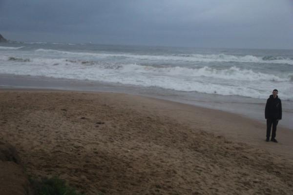 """На побережье п. Южно-Морской Приморского края - после прохождения тайфуна """"Данас""""."""