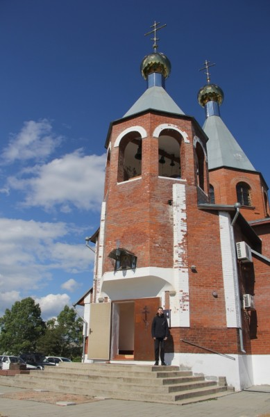 Филипп Романов возле Храма в п. Ливадия.JPG