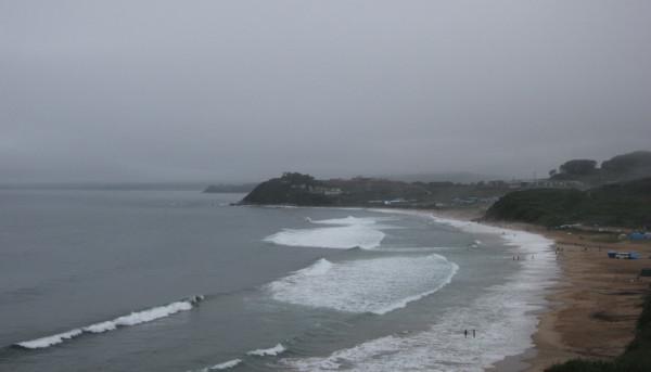 Морской шторм 08.08.2019 - у побережья п.Южно-Морской (Прим. края),-после прохождения тайфуна Франциско.JPG