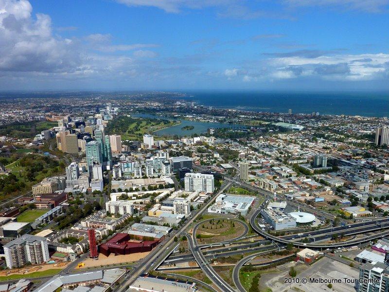 Панорама Мельбурна