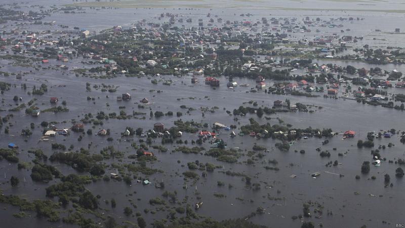 хабаровск наводнение1