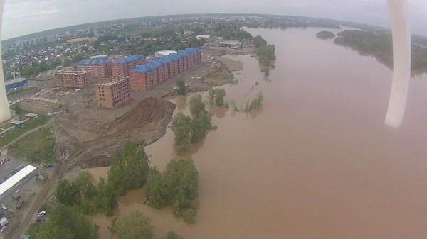 наводнение в Бийске 30 мая 2014 года