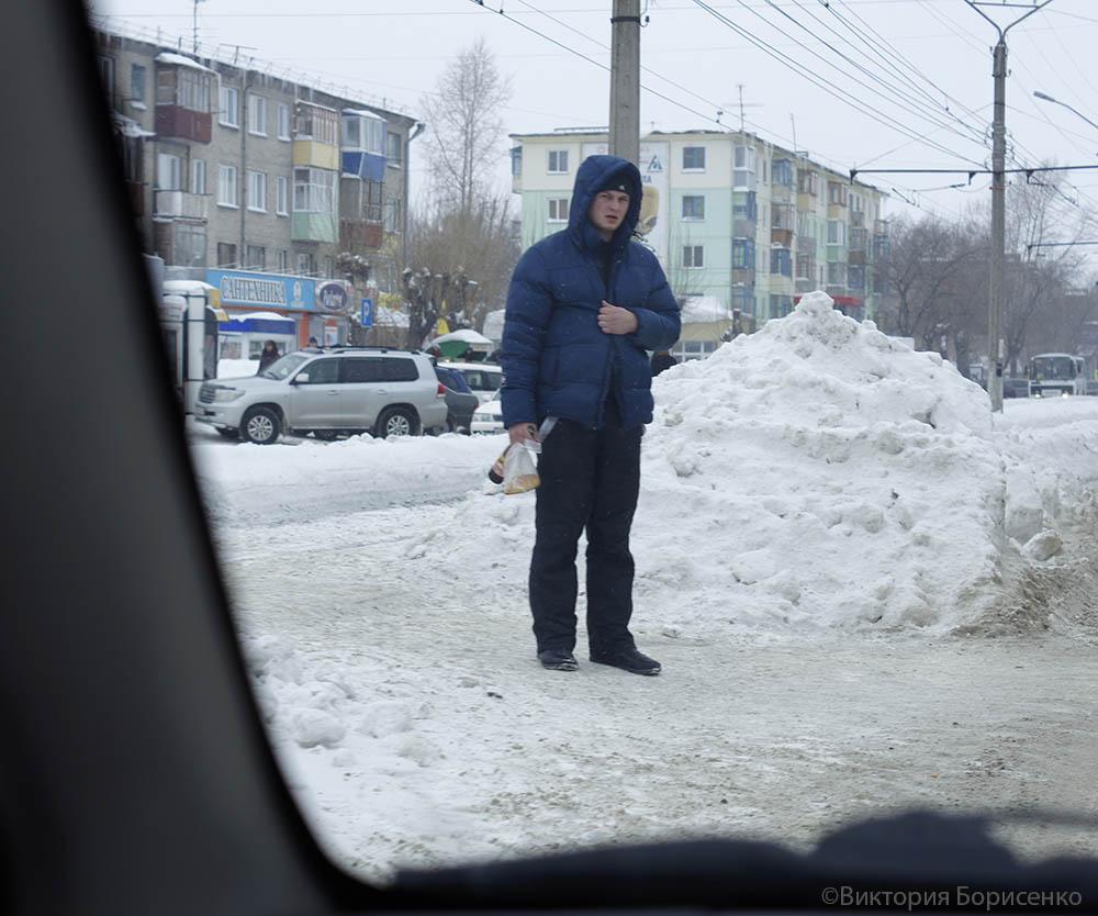 снег февраль 2