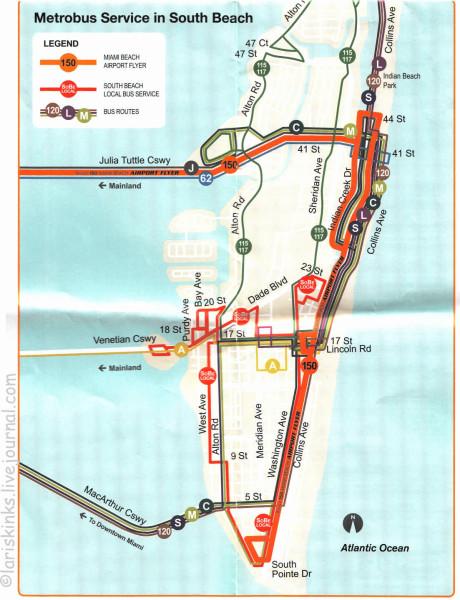 автобус Майами-бич2
