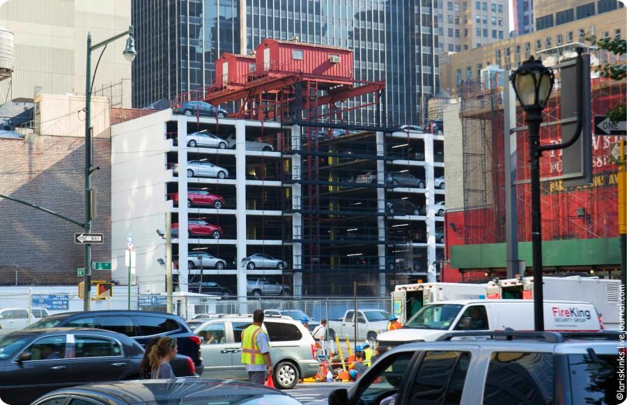 парковки в Нью-Йорке 03