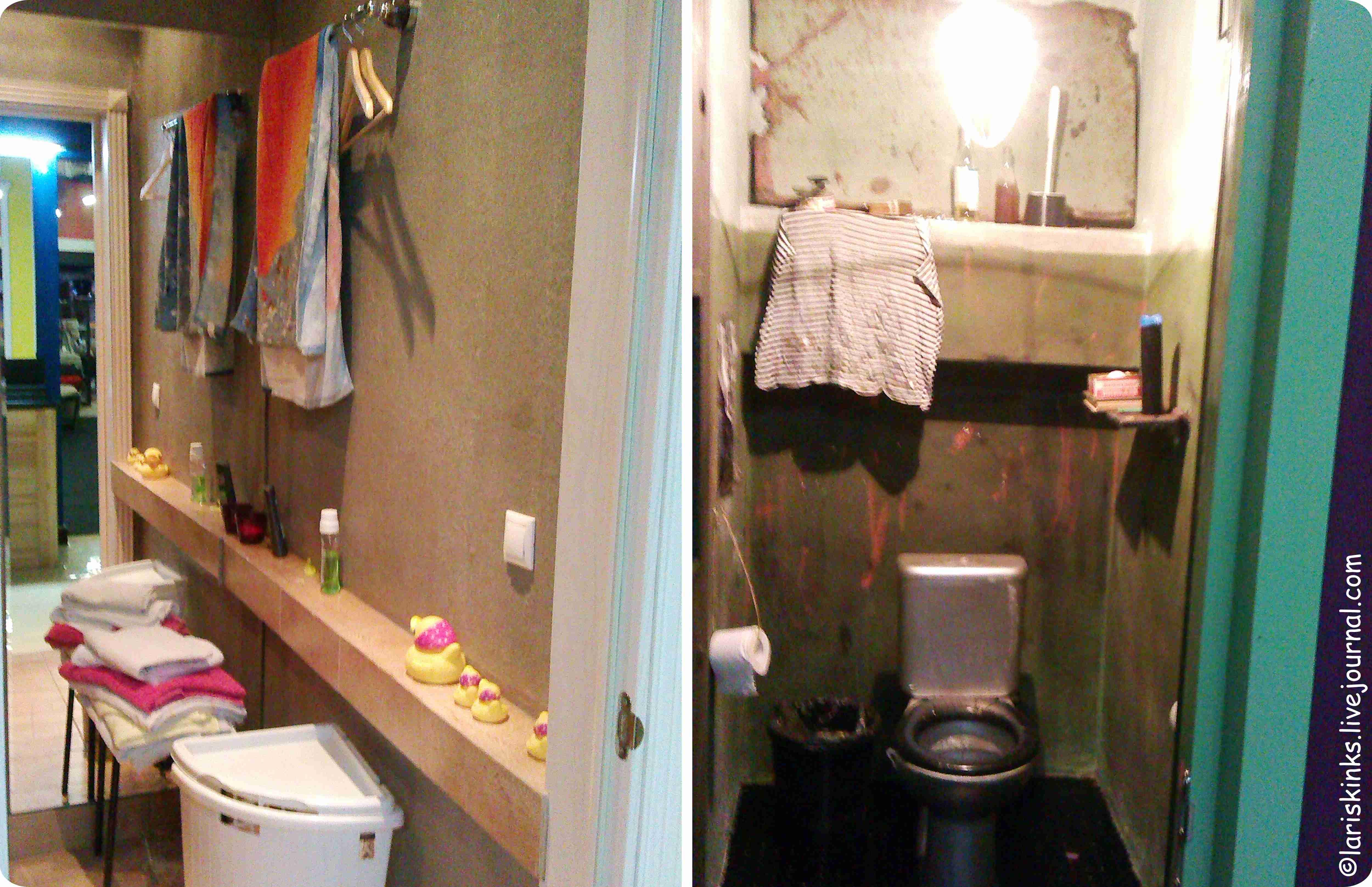 Туалеты в Студии Артемия Лебедева