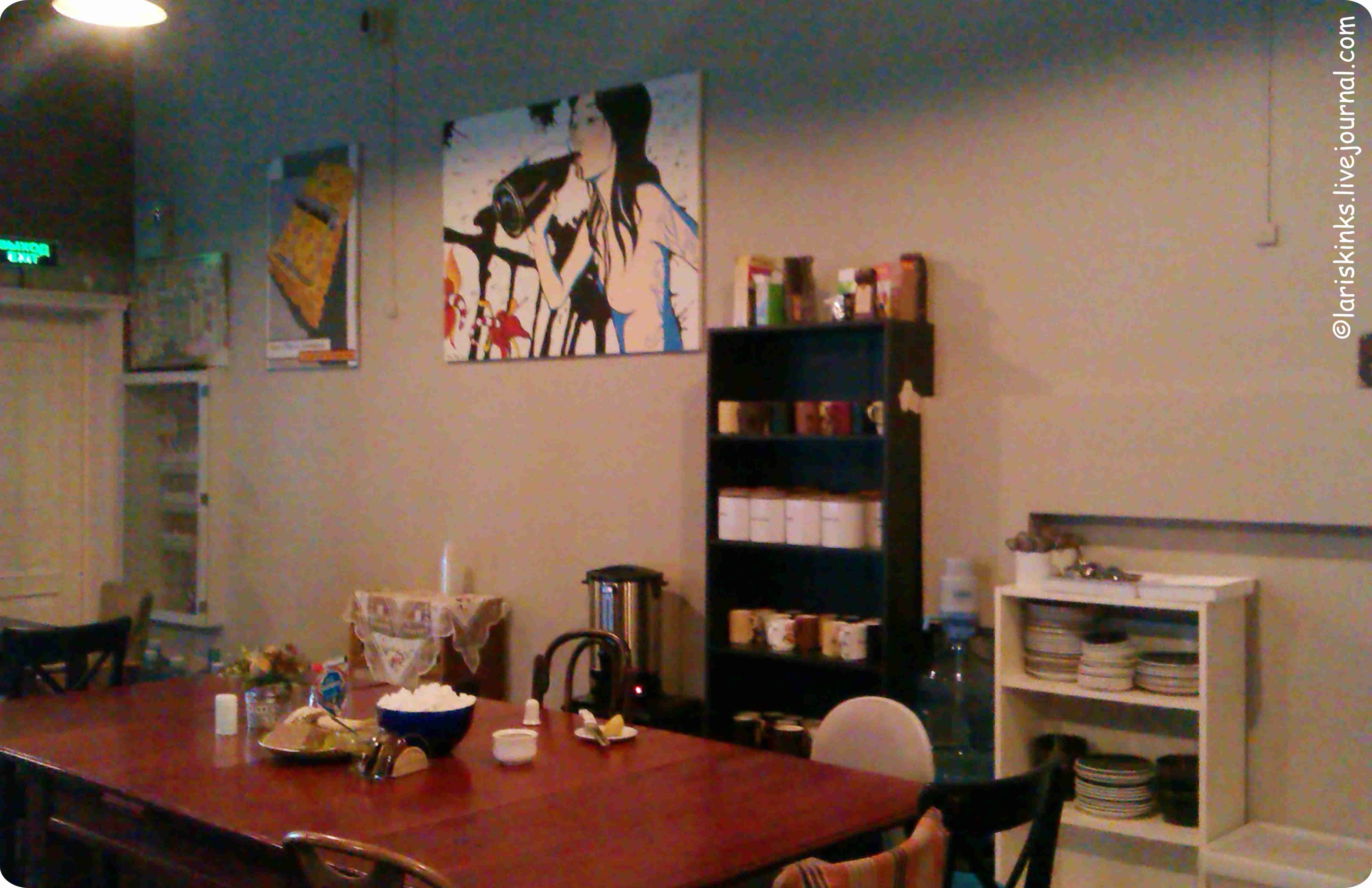 Кафе в Студии Артемия Лебедева