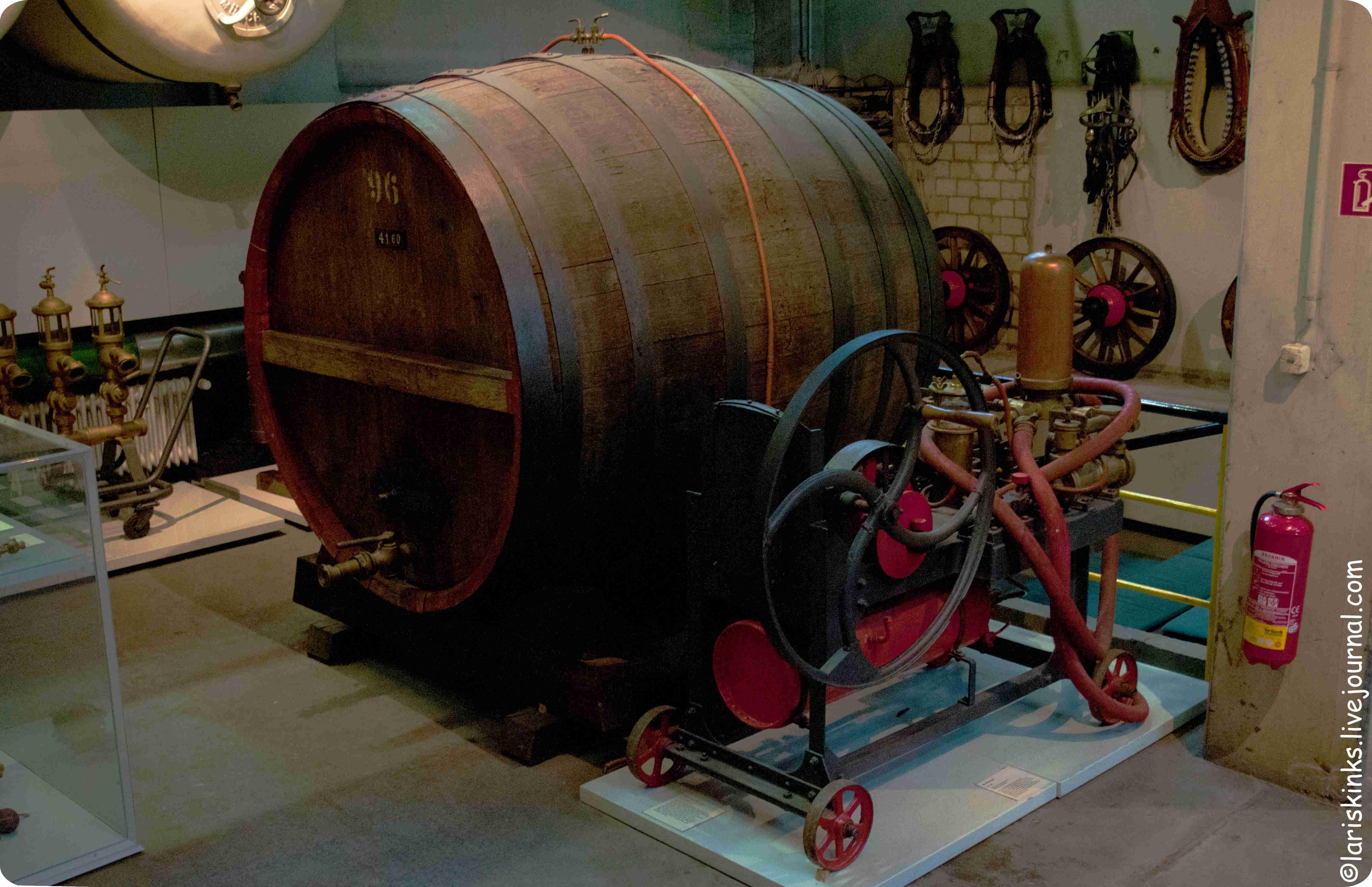 Элементы производства пива в Музее Пива (Дортмунд, Германия) 03