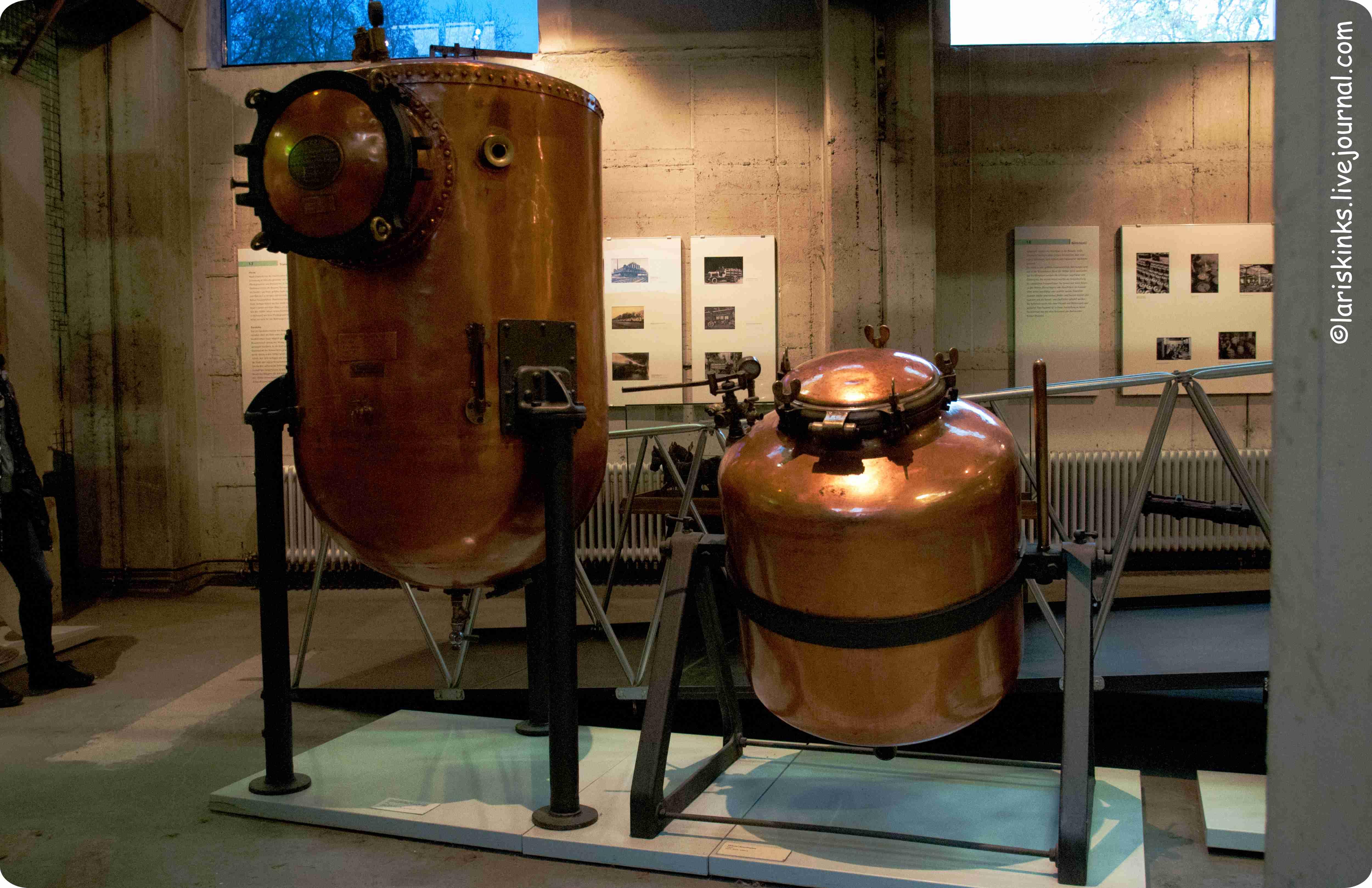 Элементы производства пива в Музее Пива (Дортмунд, Германия) 06