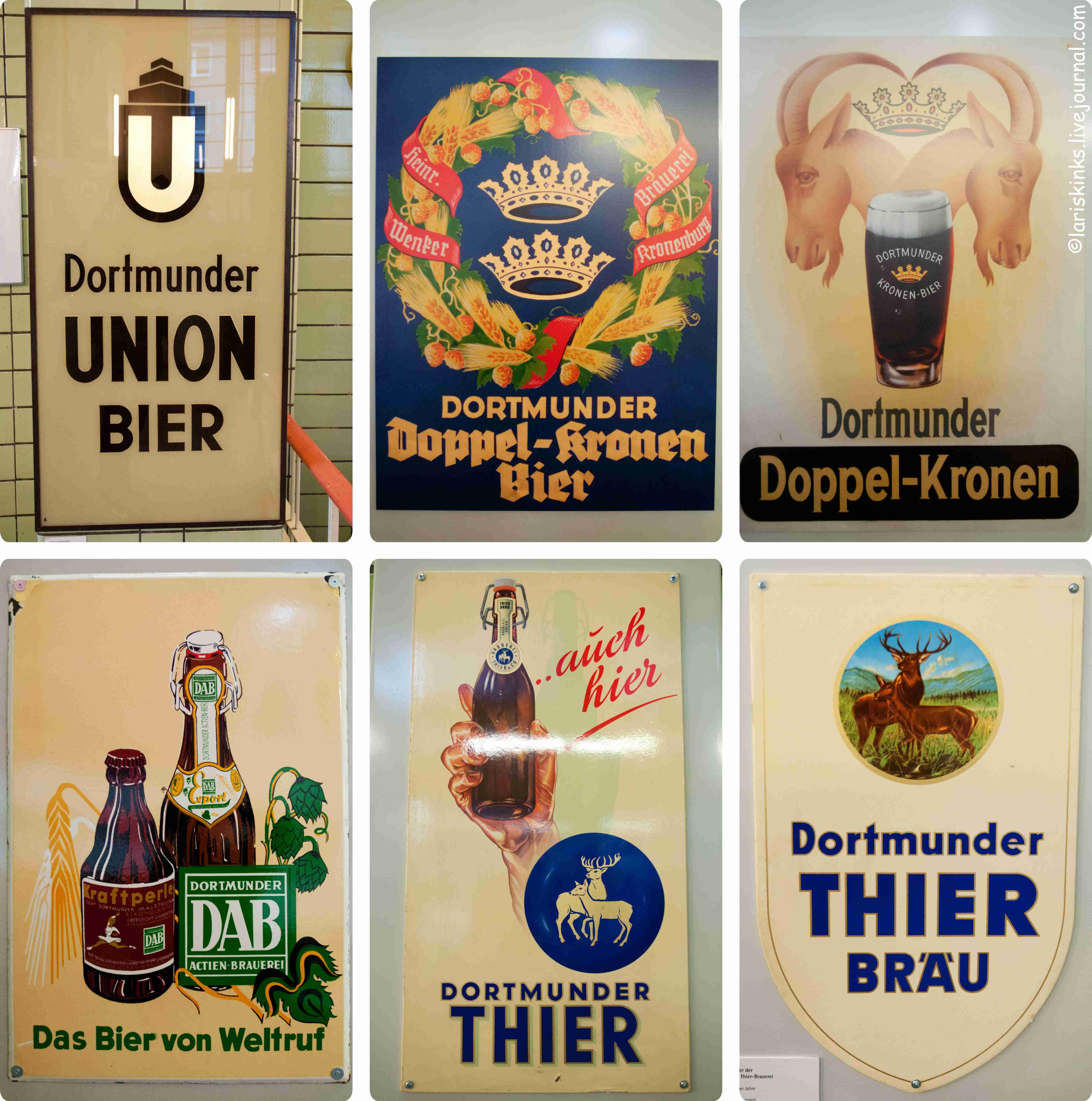 Таблички в Музее Пива (Дортмунд, Германия) 05
