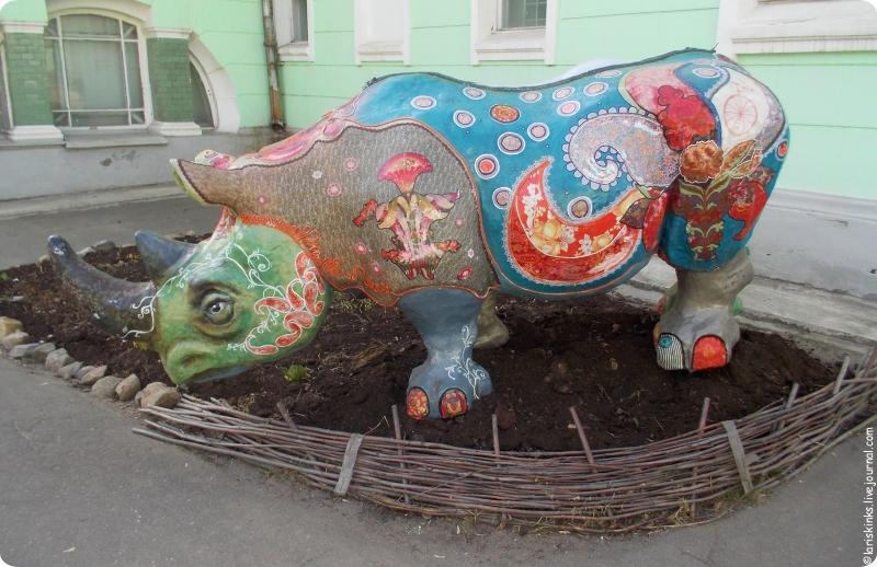 Носорог Ивановского музея ситца 01