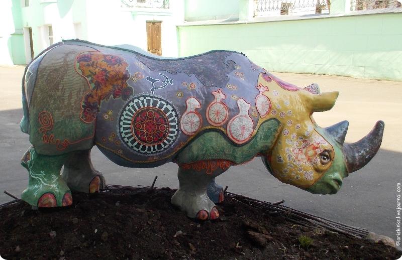 Носорог Ивановского музея ситца 03