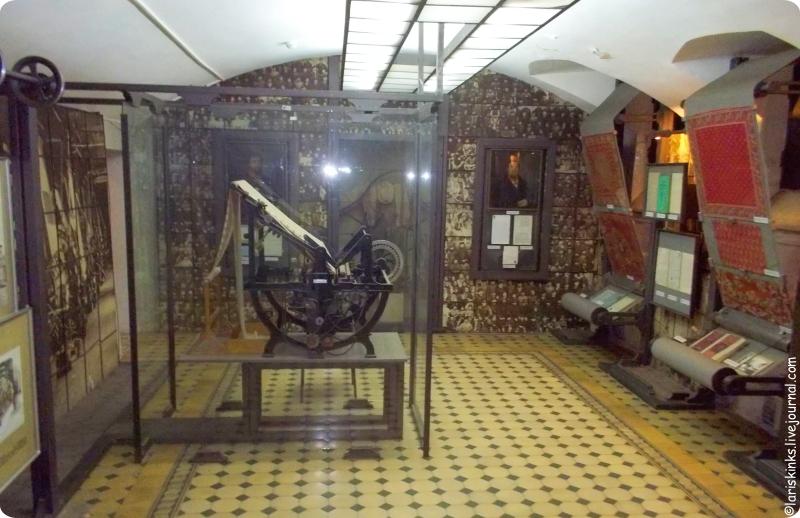 этаж машинного производства в Музее ситца Иваново 01