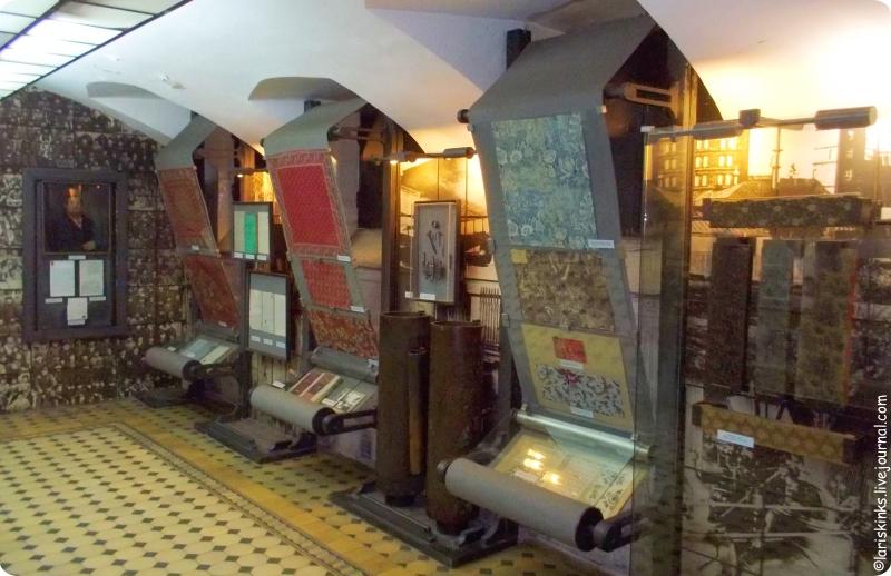 этаж машинного производства в Музее ситца Иваново 02