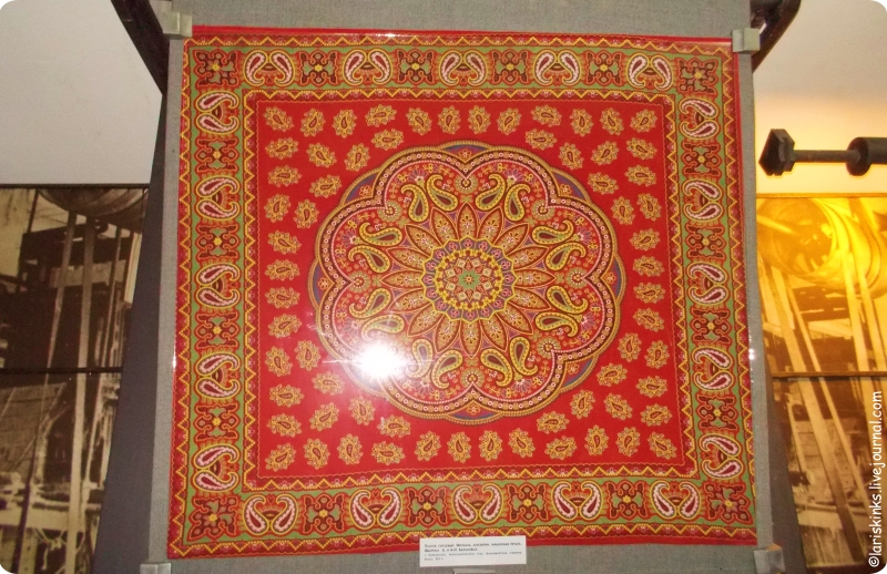 турецкие огурцы в музее ситца Иваново 01