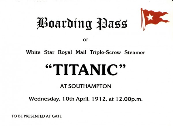 билет 1 класса на Титаник (2)