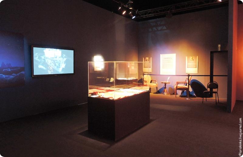 Выставка Титаник в Афимолле 01