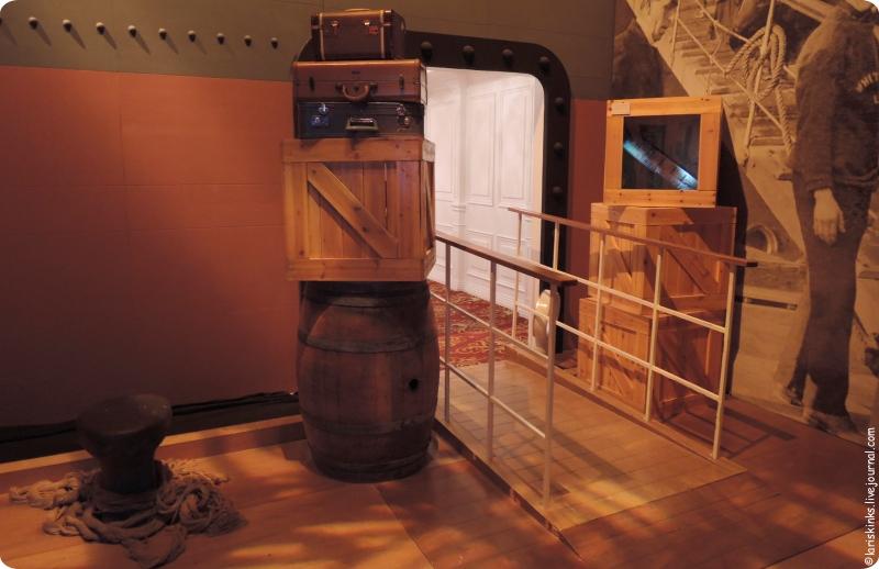 Выставка Титаник в Афимолле 11