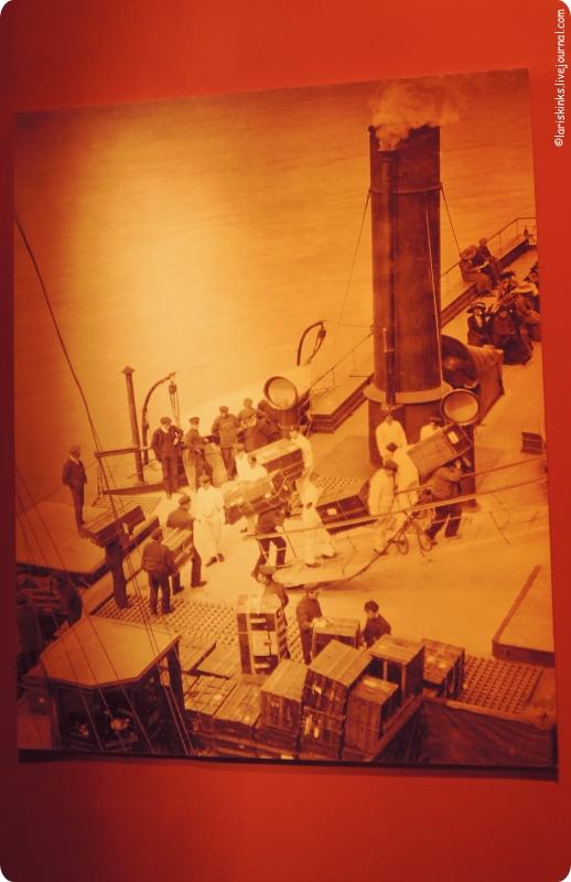 Выставка Титаник в Афимолле 10