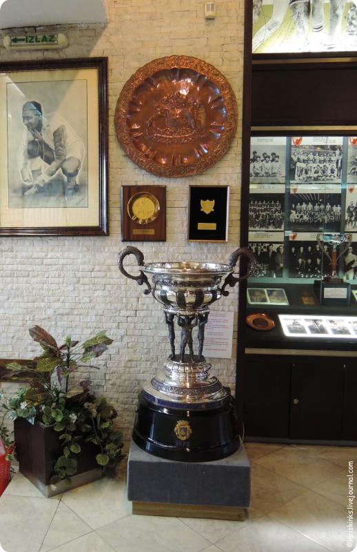 музей Црвена Звезда на стадионе Маракана в Белграде 04