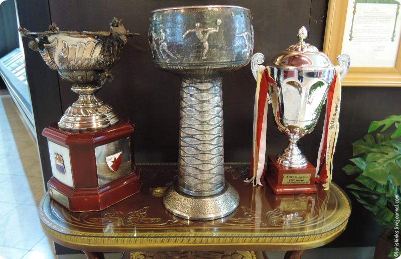 музей Црвена Звезда на стадионе Маракана в Белграде 05
