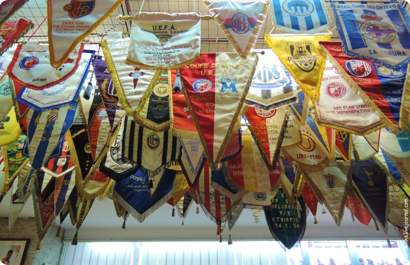 музей Црвена Звезда на стадионе Маракана в Белграде 06