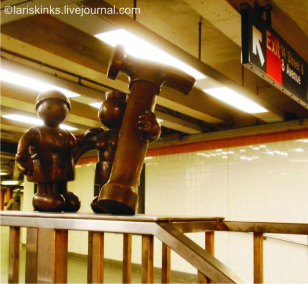 жители метро в нью-йорк (6)