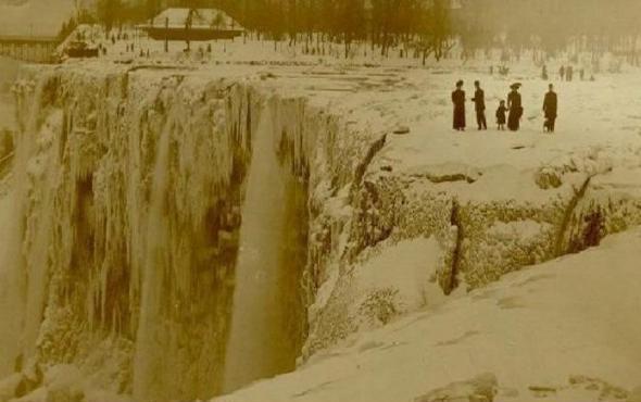 ниагарск водопад замерз 1911