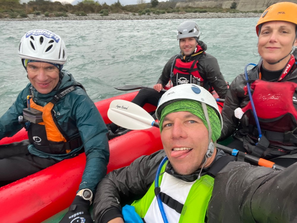 This is the first team mission with proper navigation, trekking & rafting planned. Thanks to our South Island based captain Milan, who planned the route, made sure the team came tired and surprised us with this wonderful adventure!