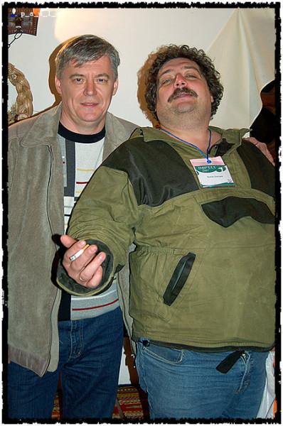 В.Ларионов и Д.Быков
