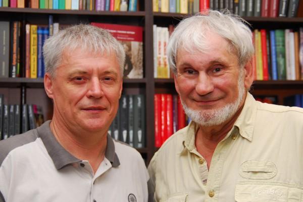 В.Ларионов и Г.Прашкевич_СПб_АБС-2011.jpg