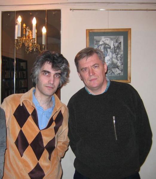 Я с Сашей Гузманом_Семинар БНС, февраль, 2005.JPG