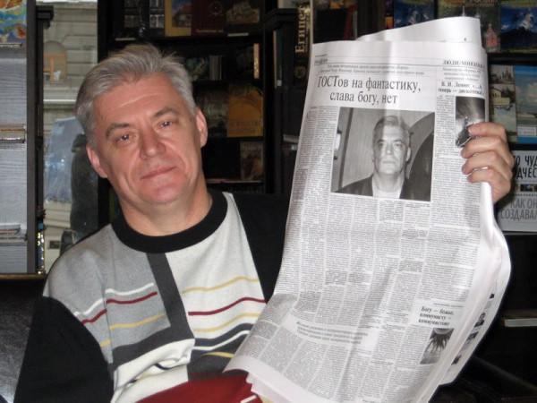 Ларионов со своим интервью_фото Инны Живетьевой