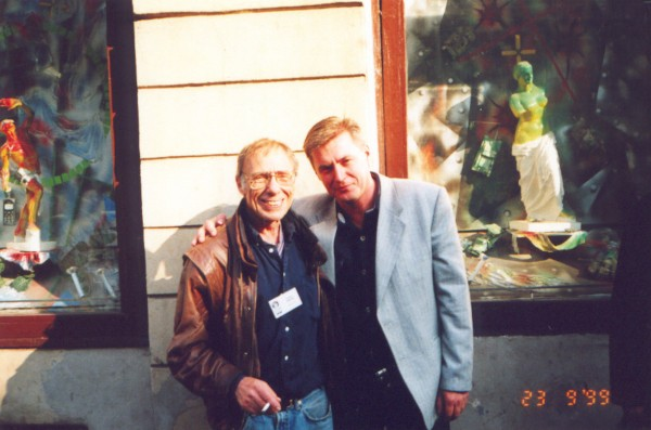 Robert Sheckley and Vladimir Larionov