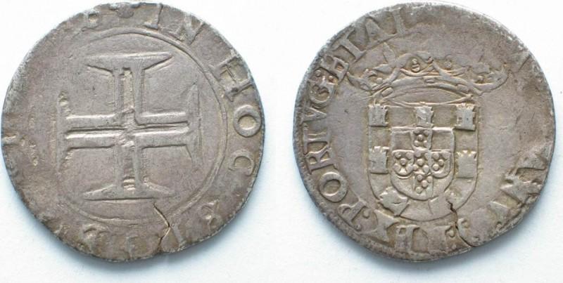 Серебряное тостао короля Себастьяна, отчеканена в Лиссабоне