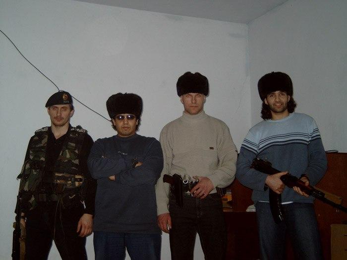 М.Хашиев, Абу-Дзейт (оба организаторы Беслана), Павел Косолапов и Абу-Фарух