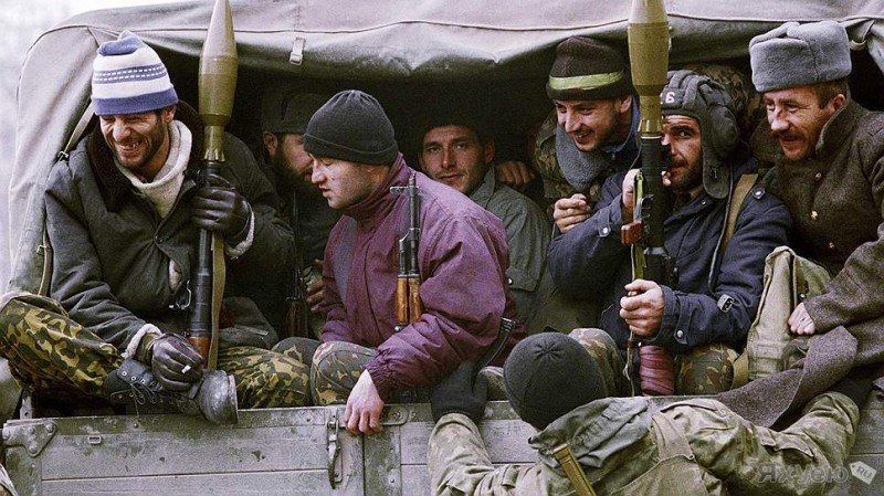 Чеченские боевики, декабря 1994 года