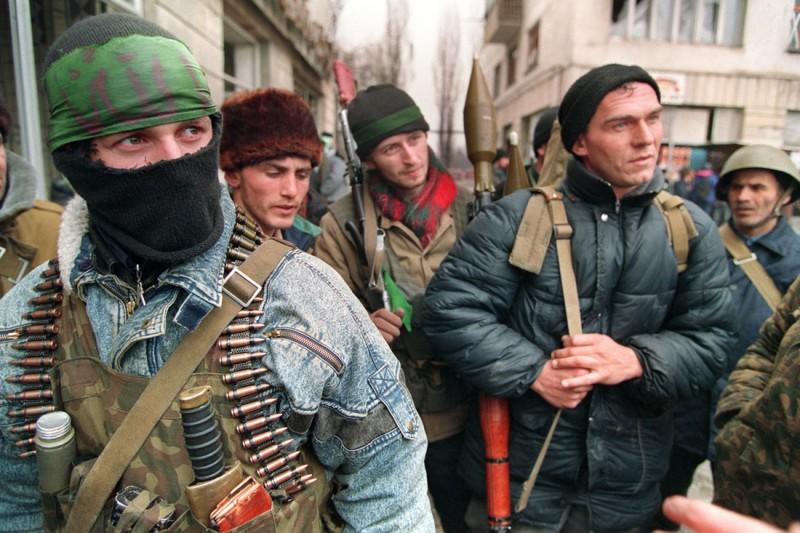 Чеченские боевика, декабрь 1994 года