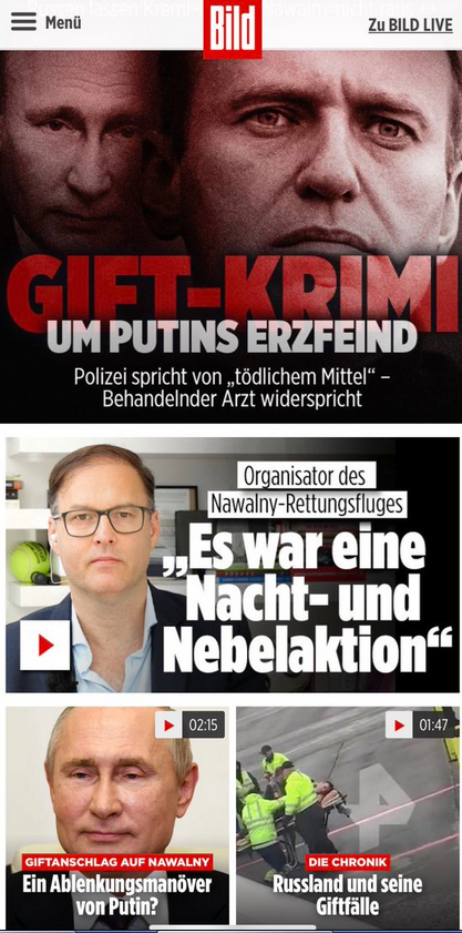 Отравление Навального: взгляд с немецкой стороны